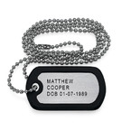 Stainless Steel Personalized Dog Tag